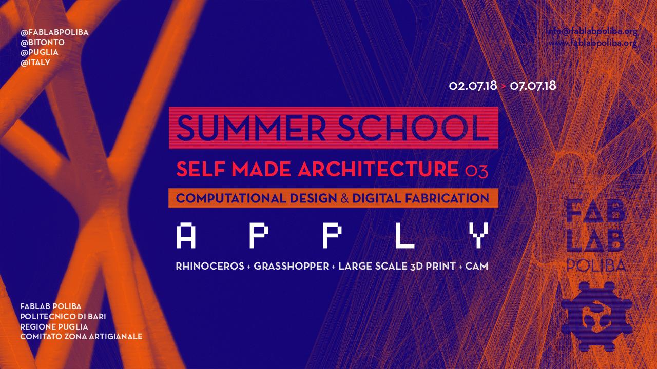 SELF MADE ARCHITECTURE > SMA 03